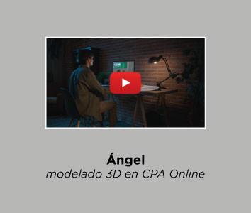 Ángel - modelado 3D en CPA Online